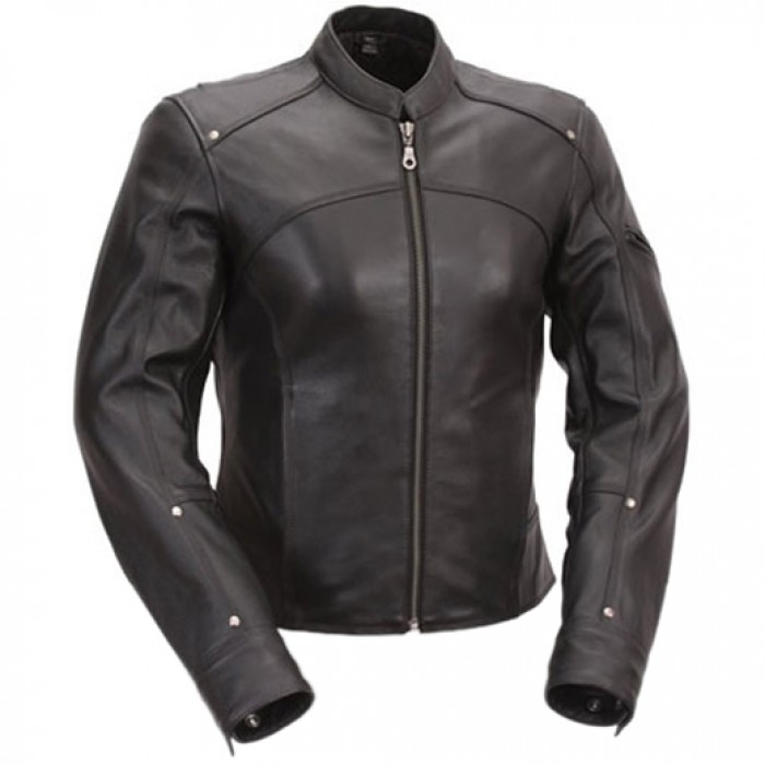 USA Biker Women Jacket